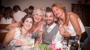 Invitados en una boda de bilbao