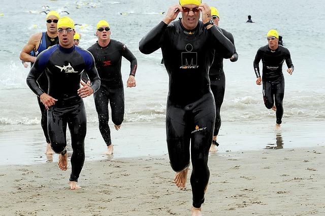 Fotografo deportes en bilbao nadadores